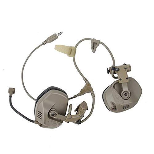 TMC RAC ヘッドセット (ヘルメット用ヘッドセット) デザートカラー with 専用 ICOM対応 PTT デバイス B07MZNTL9Z
