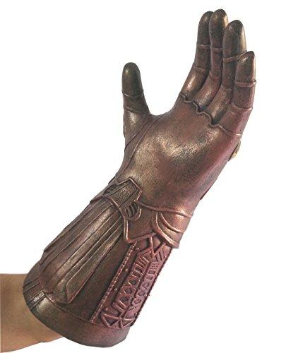 baellerry Halloween Costume Infinity War Thanos Infinity Gauntlet Gloves (Bronze) by baellerry (Image #4)