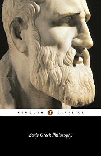 Early Greek Philosophy (Penguin Classics)