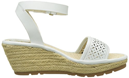 Bride London Cheville White Sandales Fly Femme Cassé 002 Blanc off Ekal969 qtIpRwd