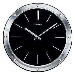 Citizen CC2001 Gallery Wall Clock, Silver-Tone