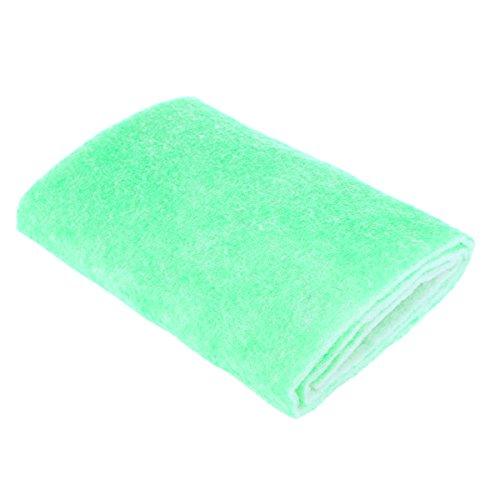 UEETEK Espuma filtrante bioquimica del filtro del acuario del filtro de la esponja del acuario del filtro para los tanques de acuario 120x30x0.8cm