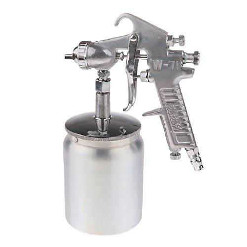 (MagiDeal 500ml Air Spray Gun Auto Paint Car Primer Detail Paint Sprayer Repair Tool)