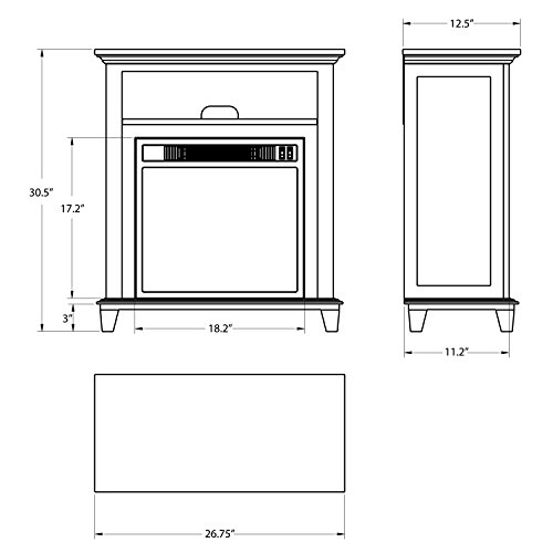 The 8 best fireplace mantels with storage