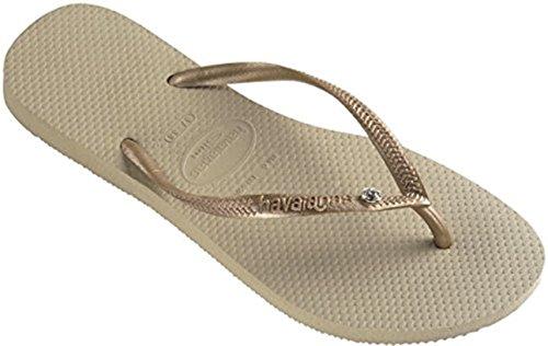 EU SW Beige Femme EU Slim 41 Sand Crystal Glamour Havaianas Sandales 42 49 Light Grey 43 41 Golden BR Sw7YtFq