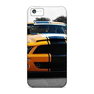 5c Scratch-proof Protection Case Cover For Iphone/ Hot Ford Mustang Phone Case