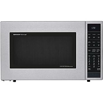 Amazon.com: Sharp SMC1585BS 1.5 cu. ft. Microwave Oven