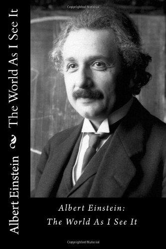 The World As I See It Albert Einstein Pdf