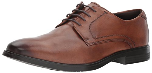 ECCO Men's Melbourne Tie Oxford, Amber, 46 EU/12-12.5 M -
