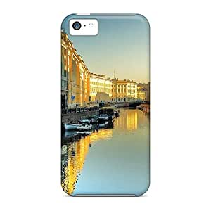 Iphone Cover Case - Beautiful Still River Through St Petersbourg Protective Case Compatibel With Iphone 5c