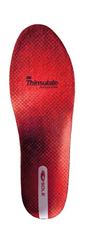 Custom Footbed (Sole Softec Response Custom Footbed,9 B(M) US Women / 7 D(M) US Men,Insulated Red)