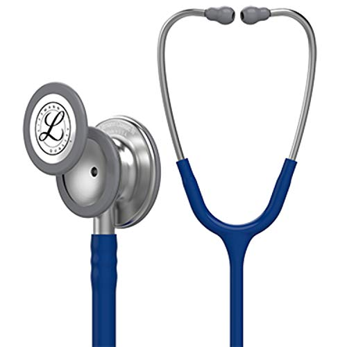 III Monitoring Stethoscope, Navy Blue Tube, 27 inch, 5622 ()
