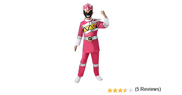 Rubies Disfraz oficial Power Rangers para niño en color rosa de ...