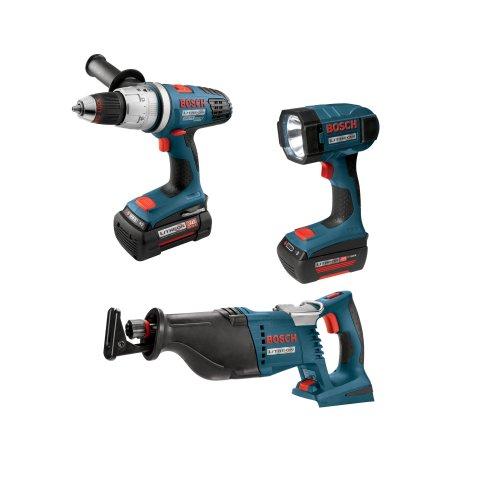 Bosch CPK30-36 36-Volt Reciprocating Saw/Hammer Drill Driver/Flashlight Combo
