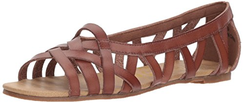 Blowfish Women's Dirry Flat Sandal, Clay Dyecut, 9 M US