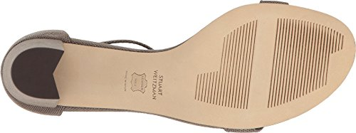 Stuart Weitzman Women's Nearlynude Heeled Sandal Fossil Bead Nappa pay with paypal cheap online 2015 new cheap price pictures cheap price cheap looking for 8Z0wm