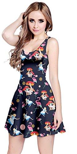 CowCow Womens Alice Navy Sleeveless Dress, Navy - S