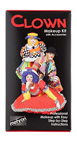 Mehron Makeup Premium Character Kit (Clown) -