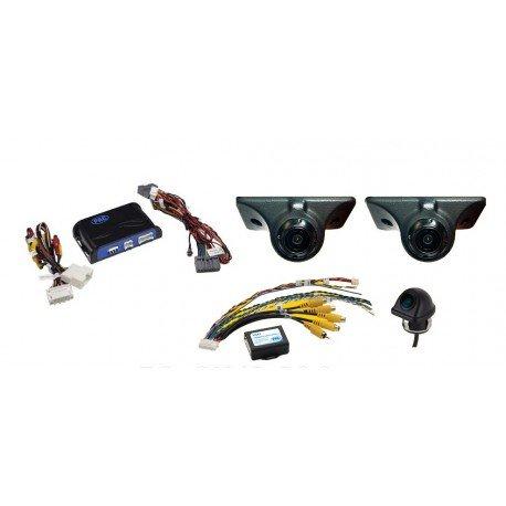 Echomaster FC-CH41-RSC Complete Blind Spot Elimination and Lane Change Assistance System for Chrysler / Dodge / RAM / Jeep