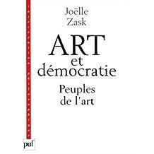 Art et démocratie: Peuples de l'art