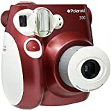 Câmera Digital Instantânea 300, Polaroid, Vermelha