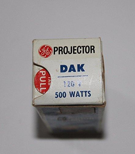 TopOne GE DAK 120V 500W Projector Lamp Bulb Unused in Box