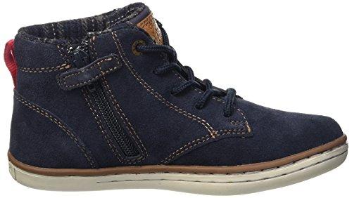 Geox Jr Garcia Boy D, Zapatillas Altas para Niños Blau (NAVYC4002)