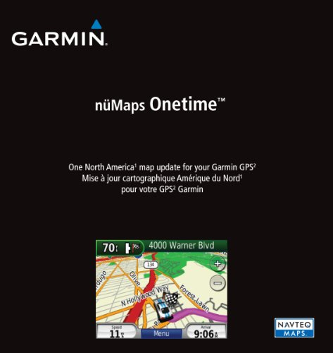 Garmin n%C3%BCMaps Onetime Navigator America