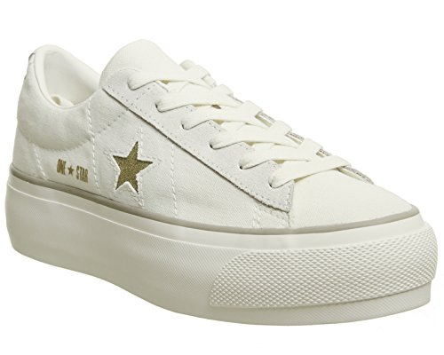 Converse 560985C One Star Platform OX Sneakers Mujer Blanco