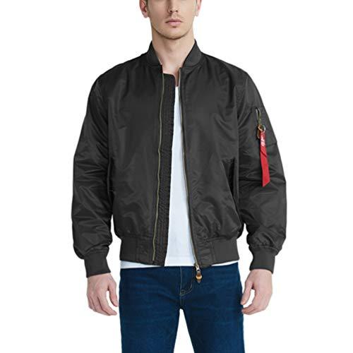 Jacket Bomber Flight Noir1 Multi Softshell Homme Outdoor Manteau Baijiaye poche Veste Militaire Manteaux Blousons Voler 5HOHwxq6F