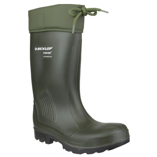 Wellington C462943 Safety Full Boots Green Thermoflex Dunlop Mens Safety VK CSwdqIX