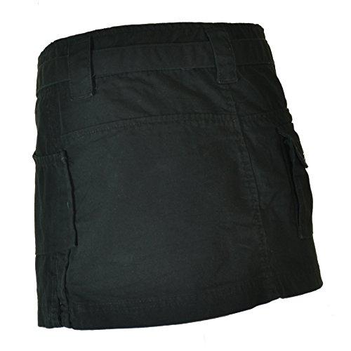 Falda Aventurero cinturada - Falda con cinturón tipo Adventurero Negro Carbón
