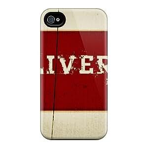 Premium Durable I Love Liverpool Fashion Tpu Iphone 4/4s Protective Case Cover