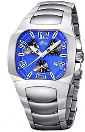Lotus 15501/5 Reloj de Hombre Cuarzo Acero Brazalete Tamaño 40 mm