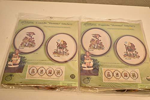 Paragon Needlecraft Pair of Hummel Crewel Stitchery Kits #0232 and 0233