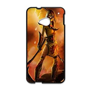 HTC One M7 phone case Black League of Legends Akali DDD5318817