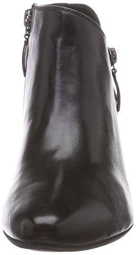WEBER de 04 negro bajo de caño Laura botas GERRY negro cuero mujer 6Fgxdwx