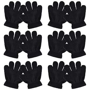 Amazon.com: Teemico 6 Pairs Child Gloves Kids Winter