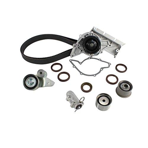DNJ TBK812WP Timing Belt Water Pump Kit w/Hydraulic Tensioner 2002-2006 Audi 3.0L 30 Valve