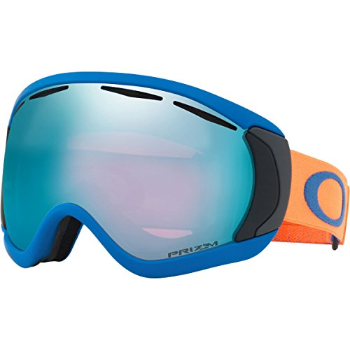 Oakley Canopy Snow Goggles, Iron Frame, Prizm Sapphire Iridium Lens, - Ski Goggles Oakley Outlet