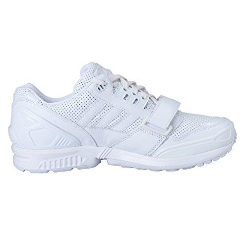 Adidas Door Juun. J Unisex Lederen Atletische Sneakers Schoenen Wit