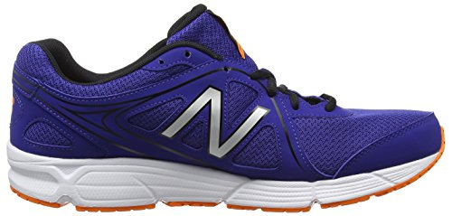 New Balance M390cm2-390, Zapatillas de Running para Hombre Azul (Blue/Orange 405)