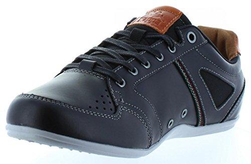 Zapatos de Hombre KAPPA 303J6L0 SYRINGAE 905 BLACK-BROWN