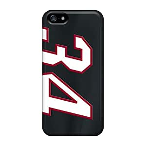 PUQctQD3382BnrrK Tpu Phone Case With Fashionable Look For Iphone 5/5s - Miami Heat