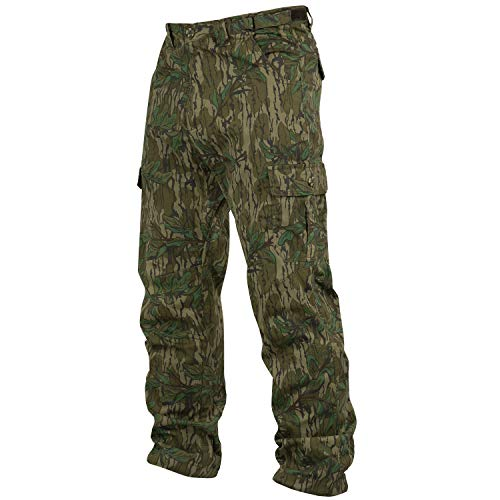 - Mossy Oak Men's Cotton Mill 2.0 Camouflage Hunting Pant in Multiple Camo Patterns