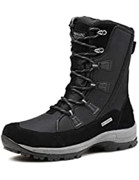 Women's Waterproof Snow Boots Mid Calf Warm Winter Outdoor Footwear