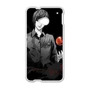 HTC One M7 Cell Phone Case White Death Note Unique Phone Case Sports XPDSUNTR22329