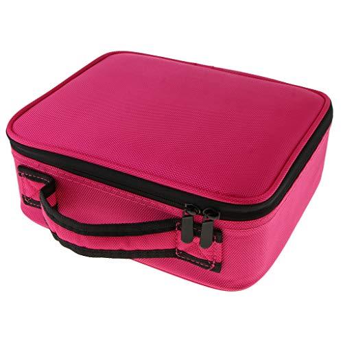 c4dcb9fd6 Para S Separador Viaje De Estuche Con Ajustable Rojo Profesional Cosméticos  Bolsa Baoblaze Rosa Maquillaje WE9DHI2