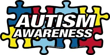 Autism Awareness Puzzle Piece DECAL (non-magnetic!) - Autism Puzzle Car Magnet