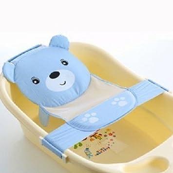 Amazon.com : Baby Bath Seat Support Net Bathtub Sling Shower Mesh ...